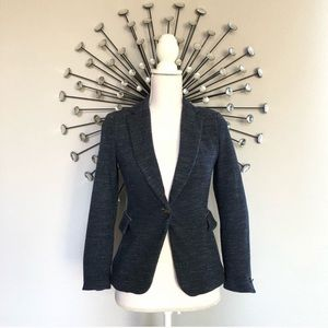 Zara navy blue blazer small